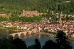 Heidelberg city with bridge